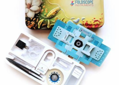 Foldscope for Low Visions