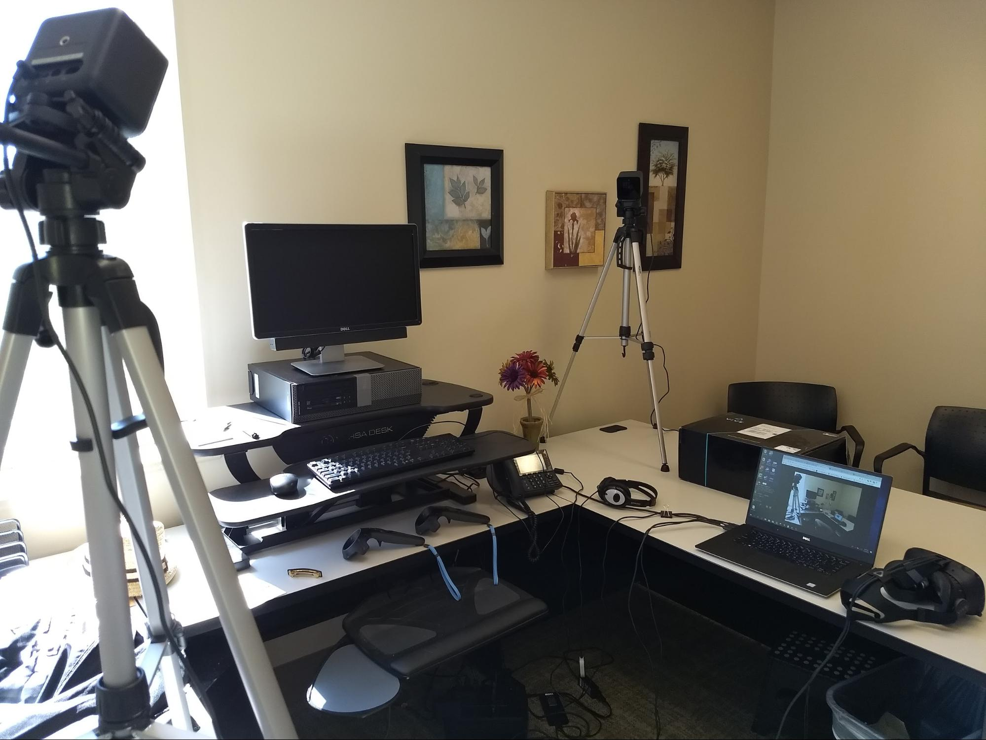 HTC Vive System Set-Up at Columbia Gorge Community College